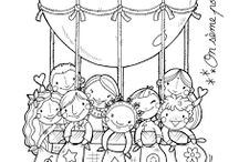 debuxos infancia