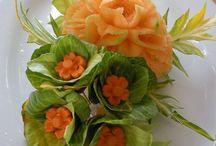 Sebze dekorları
