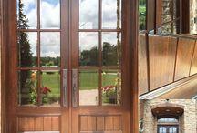 DOOR RESTORATION / J&H Painting provides complete wood door restoration & maintenance. http://perfectioninpainting.com