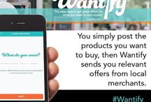 Best Local Deals! / Wantify is a new way to find what you want to buy locally. Browse offers made by merchants near you, post what you're looking for, and receive VIP deals from merchants you follow. Grab deals NOW before they disappear.  *Wantify launched in Birmingham, MI as our first market, but will be rolling out to other American hometowns soon!