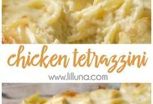 Chicken letrazzini