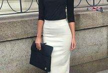 estilo con faldas..