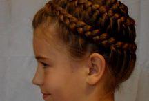 Warkocze / Warkocze, fryzury, plecionki