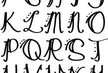 Hand-letteting