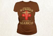 Nurses T-shirts