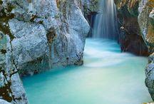 waterfall wild swimming