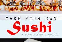 make yiur own sushi