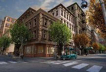 Stylized Buildings