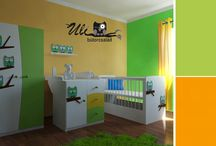 Unisex kids furniture / Kids furniture. Kids bedroom. Uniszex bababútor. Gyerekszoba bútor.