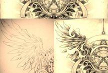 Interesujące tatuaże