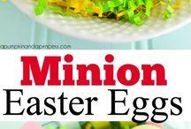 Easter crafts & food