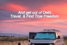 TRAVEL - RV / Tips and inspiration for road trips in a RV. How to build your own RV, how to decorate it, where can you stay for free etc.