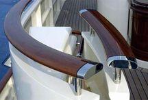yacht handrail