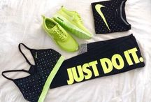 Sports clothes and shoes