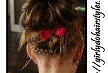 Stoere Staartjes / Mode, hippe haartjes, tasjes, sjaaltjes, sieraden...alles voor de kleine meid.