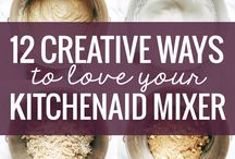 Must do with Mixer / Must get motivated with the kitchenaid!