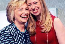Hillary Clinton and Chelsea Clinton / Hillary Clinton and Chelsea Clinton by http://www.wikilove.com