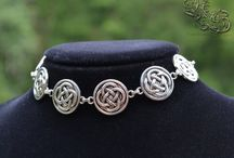 Chokers from North Shaman / All the chokers from North Shaman Inspired by medieval, elven, mystic, gothic, pagan, dark, celtic, native american, nature and viking style.