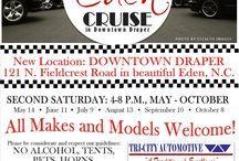 The Eden Cruise - Downtown Draper / 7th Annual Eden Cruise in downtown Draper - Eden, NC