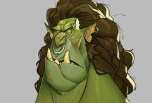 Concept Character Cartoon
