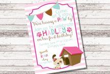 Hadley's 1st birthday