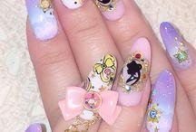 Nail in love ❤️ / Fantasy nail art