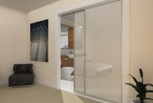 sliding doors/room dividers / by Sarah Fairbrother