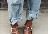 Rockstud Obsession  / Outfit ideas: how to style Valentino Rockstud flats