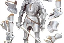 Armour drawings modern