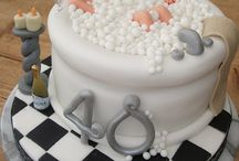 Bath tub cake