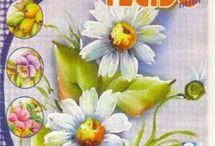 Revistas de pintura da Leilinha