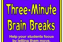 Classroom: Brain Breaks & Transitions / by Christy Rooney (MileAMinuteMama.com)