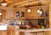 Rustic kitchen / by Jim Polaski