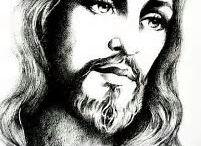 grafika Jezus