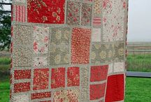 i love red and quilts
