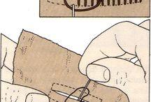 costuras a mão
