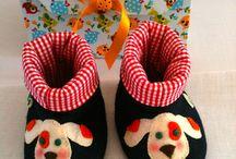 Botinhas para bebês / Botinhas quentinhas para os pés mais anjos!