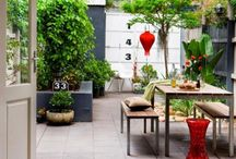 small gardens & outdoor spaces / by Meta Dj