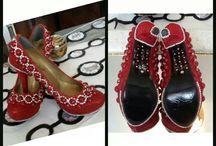 Platform Gelin Ayakkabıları