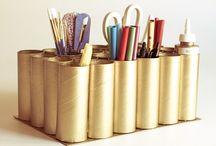 κατασκευές με ρολά από χαρτι υγειας