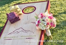 Golf Club Love / Photo shoot for DIY Wedding Magazine at McDowell Mountain Ranch Golf club.  Stylist and Floral Design: Debbie kennedy Events & Design. www.debbiekennedyevents.com Printables: www.squarepartyprintables.com Photography: www.cwlifephotography.com Linens: www.latavolalinens.com