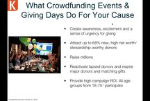 Crowd Funding and Nonprofits / Useful infographics, articles, and case studies / by Beth Kanter