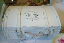 Vintage Suitcases & Trunks