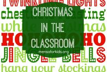 Christmas in the Classroom / Christmas in the Classroom collects wonderful ideas from educators and homeschoolers for celebrating Christmas with kids in the classroom.  For more information about Mensa for youth, visit mensaforkids.org.