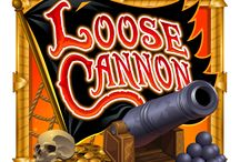 Loose Cannon / Get with the program. Play Loose Cannon video slot at the casino today and win big! Log in to rule the high seas! Stack your fleet to fire off the Wild Cannon feature and enjoy a barrage of random wild wins.