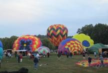 Hot Air Balloon Festival / Pittsfield NH Balloon Festival