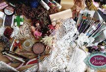 Old Things, New Life.  Cose Vecchie, Vita Nuova. / Idee creative per chi ama il il vintage, recupero di vecchi abiti, oggetti e mobili, spaziando in tutte le tecniche decorative dell'hobby