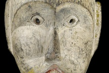 Mask and ornament of Indonesia