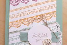 Sale-a-Bration 2017 / Paper crafting ideas featuring the Stampin' Up! Sale-a-Bration 2017 FREE* products.