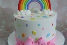 Margots rainbow birthday